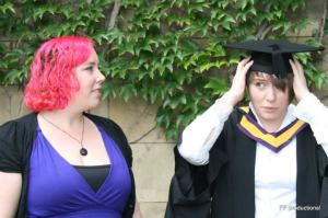 This is my sister graduating from her medical degree. She is my hero, and she should be yours too.